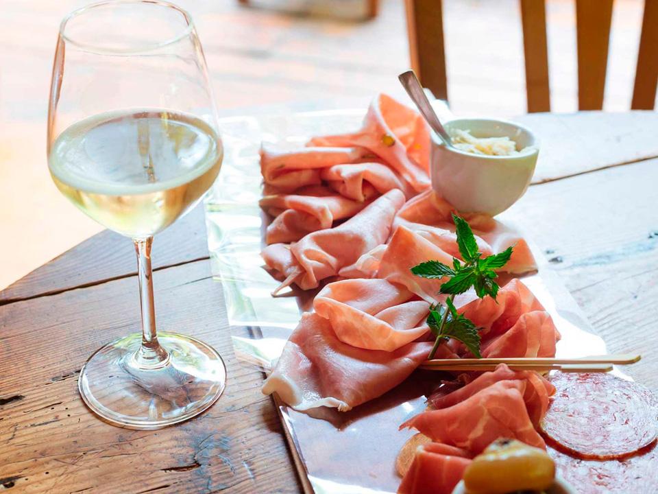 Wine and food - Tenuta Dalla Francesca