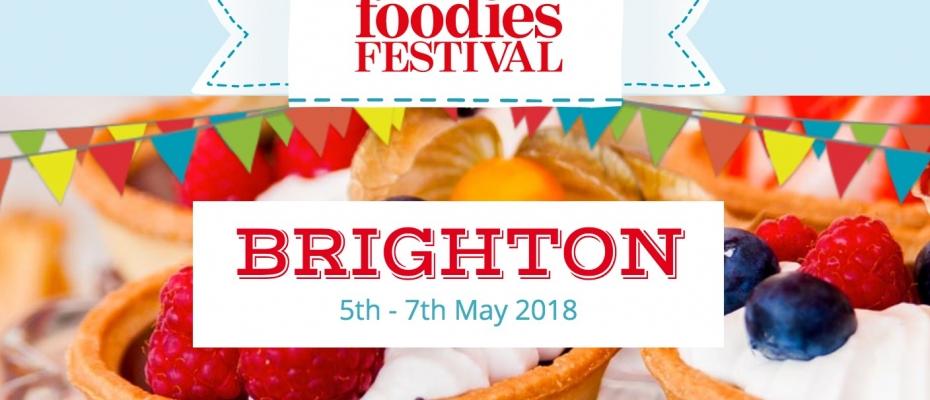 FOODIES FESTIVAL - BRIGHTON (UK) 05-06-07 MAGGIO 2018