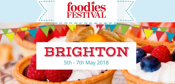 FOODIES FESTIVAL - BRIGHTON (UK) 05-06-07 MAGGIO 2018