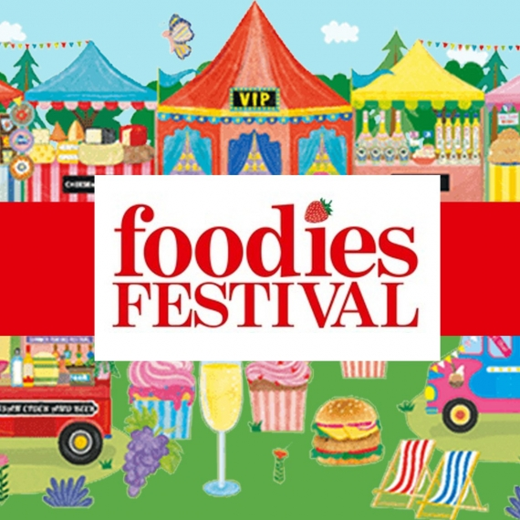 FOODIES FESTIVAL - SYON PARK  (UK) 26 - 27 - 28 MAGGIO 2018